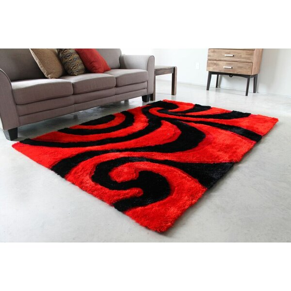 Red/Black Area Rug by Blazing Needles