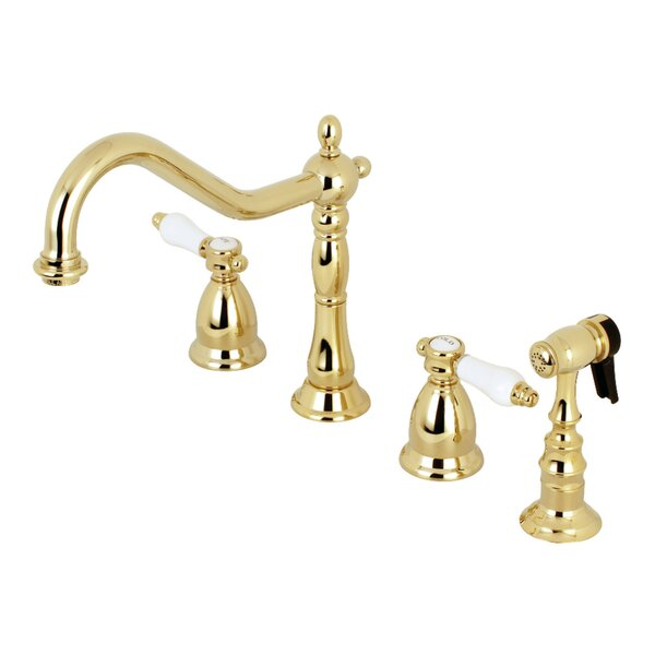Bel Air Widespread Double Handle Kitchen Faucet by Kingston Brass