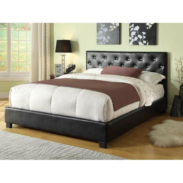 Cicero Upholstered Platform Bed by House of Hampton