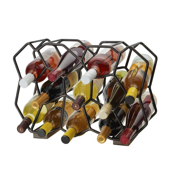 Ubix 12-Bottle Tabletop Wine Rack by Gourmet Basics by Mikasa