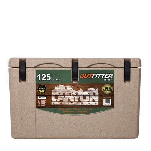 Canyoncoolers 125 Qt Outfitter Rotomolded Ice Chest