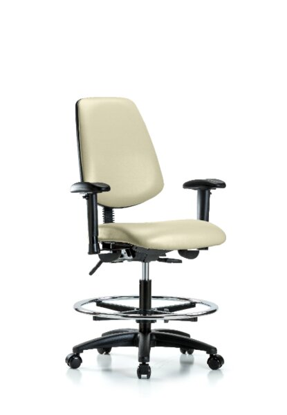 Iyanna Bench Foot Ring Office Chair by Symple Stuff