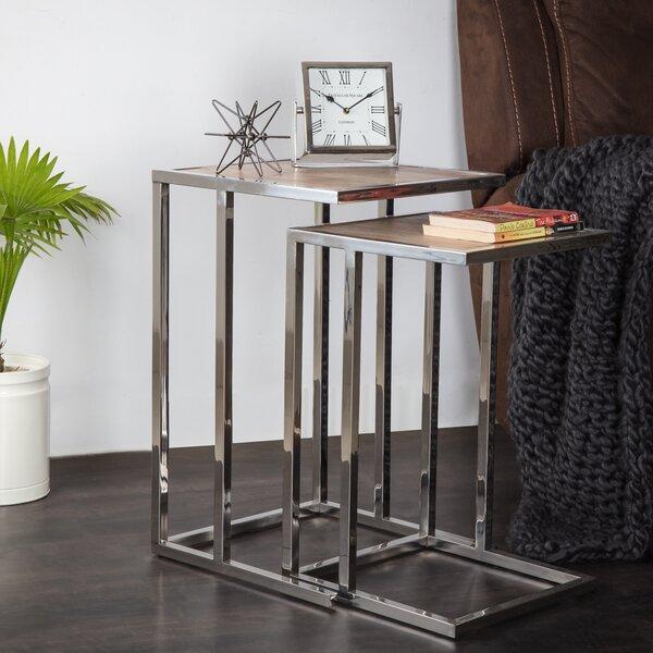 Beane Nesting Table (Set of 2) by Brayden Studio