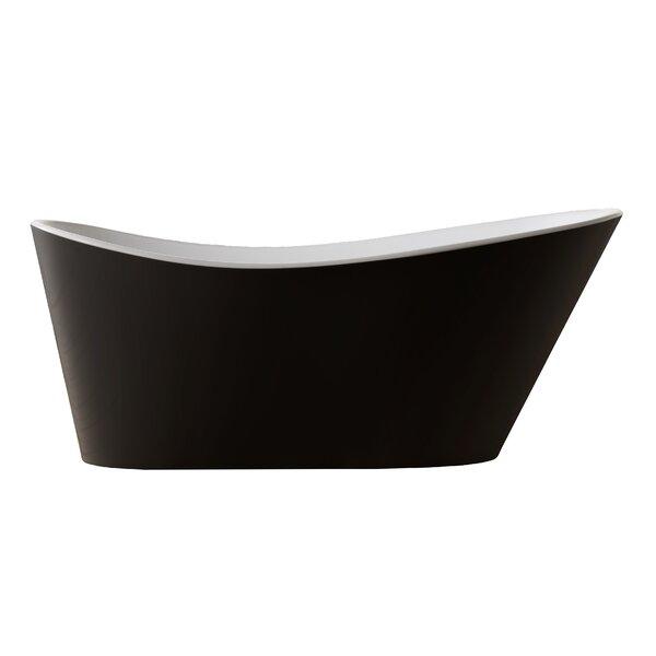 Ucore 67 x 32 Freestanding Soaking Bathtub by UCore
