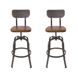 Superb Essonnes Adjustable Height Swivel Bar Stool Joss Main Unemploymentrelief Wooden Chair Designs For Living Room Unemploymentrelieforg