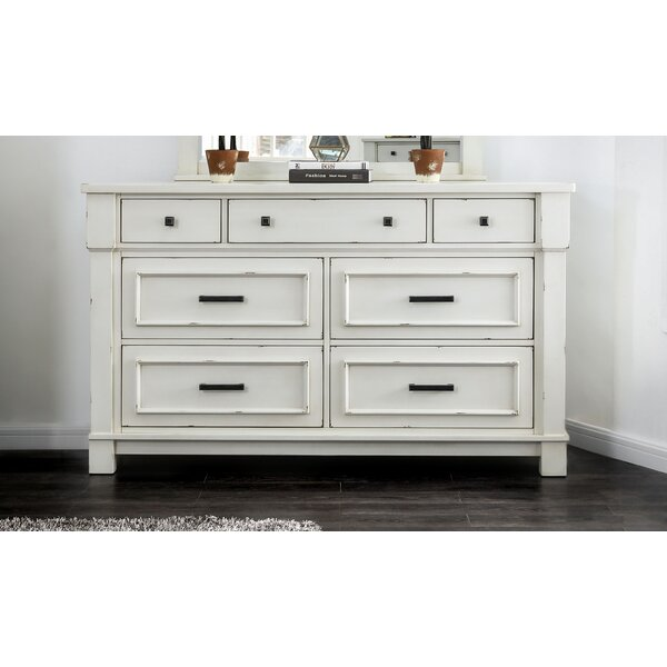 Bruno 7 Drawer Double Dresser by Longshore Tides