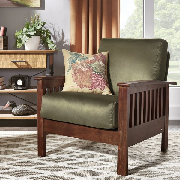 Winnifred Mission Armchair by Three Posts