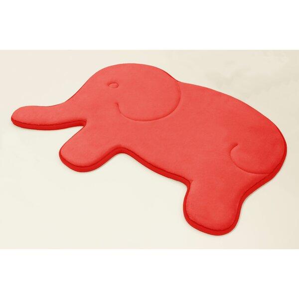 Elephant Memory Foam Non-Slip Bath Rug