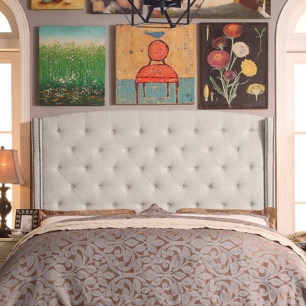 Destiny Upholstered Wingback Headboard by Willa Ar