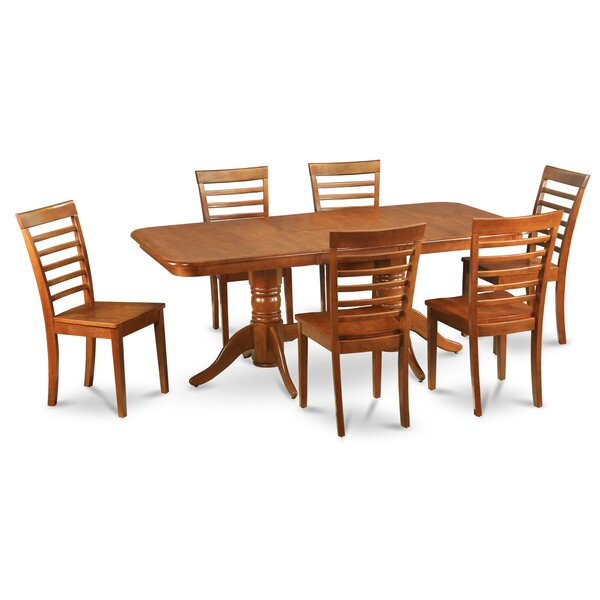 Pillsbury Contemporary 7 Piece Dining Set by August Grove