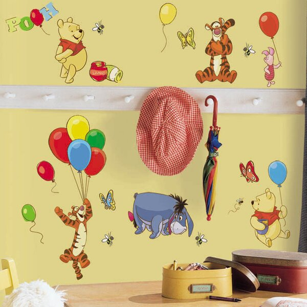 Pooh and Friends Wall Decal by Room Mates