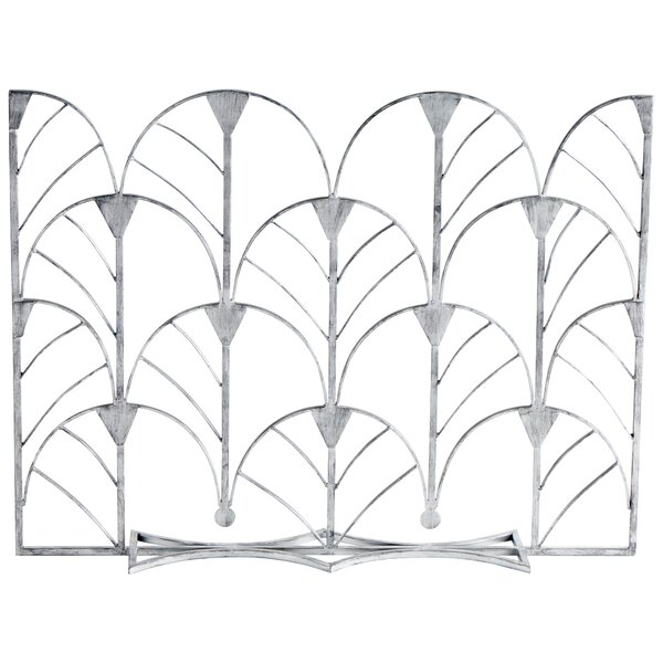 1 Panel Iron Fireplace Screen By Cyan Design