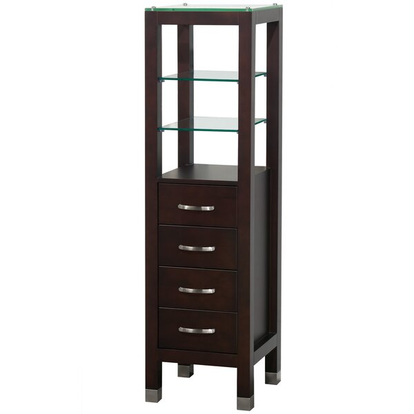 Fiona 16.25 W x 59.5 H Linen Tower by Wyndham Collection