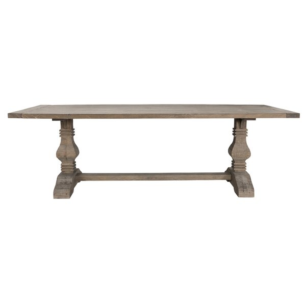 Dumfries Solid Wood Dining Table by Gracie Oaks