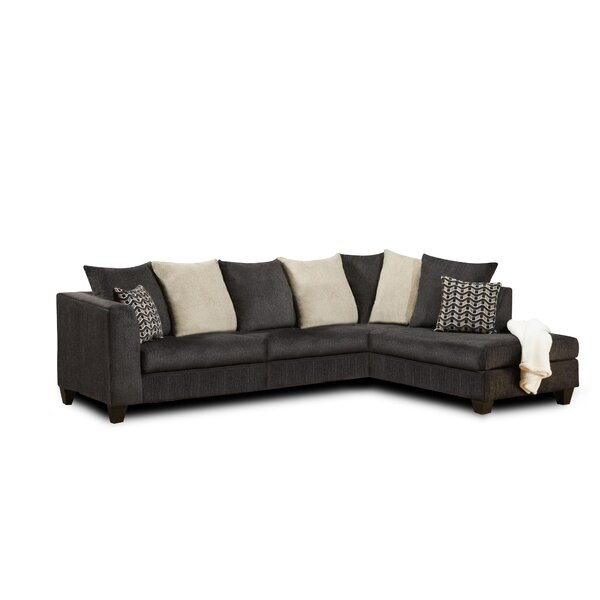Featherste Right Hand Facing Sectional by Alcott Hill