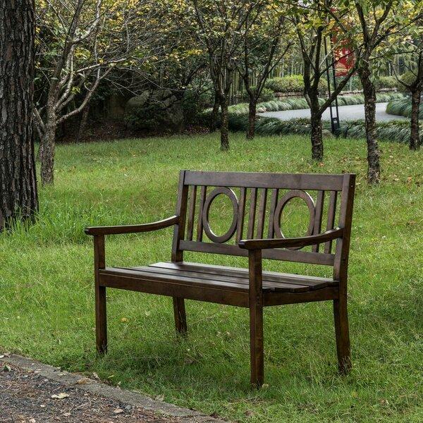 Clancy Wooden Garden Bench by Birch Lane™ Heritage