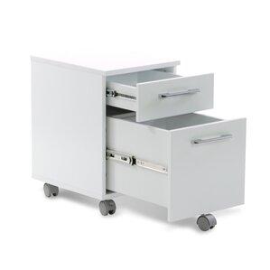 tribeca 2drawer mobile pedestal filing cabinet