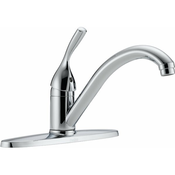 Classic Standard Single Handle Kitchen Faucet by Delta