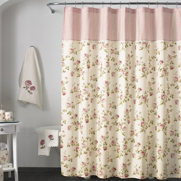 Danvers Cotton Shower Curtain by Ophelia & Co.