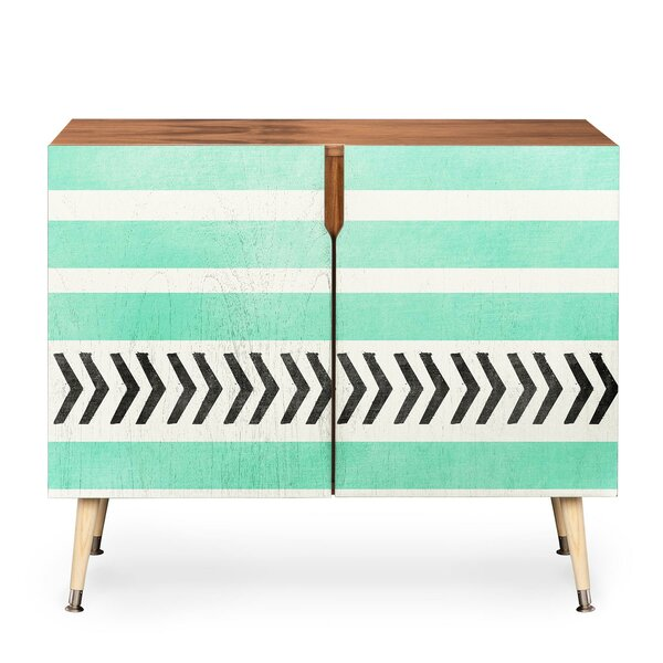 Stripes And Arrows Accent Cabinet By East Urban Home
