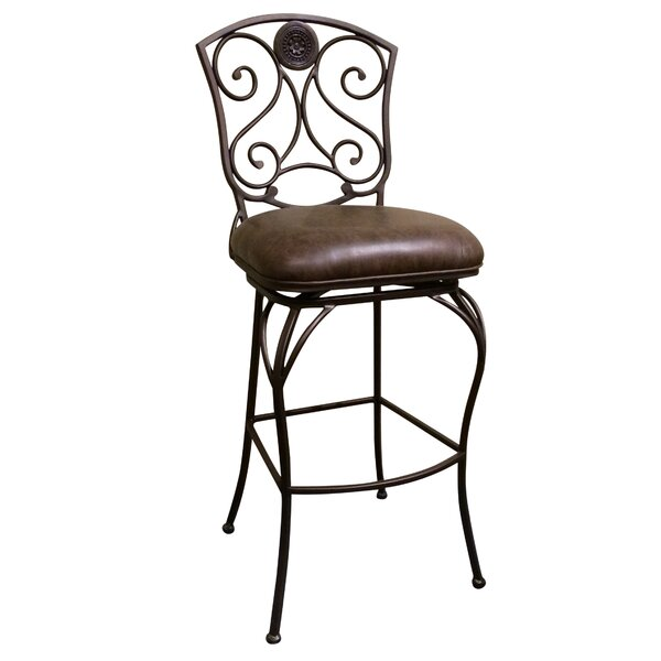 Canterbury 30 Swivel Bar Stool by American Heritage