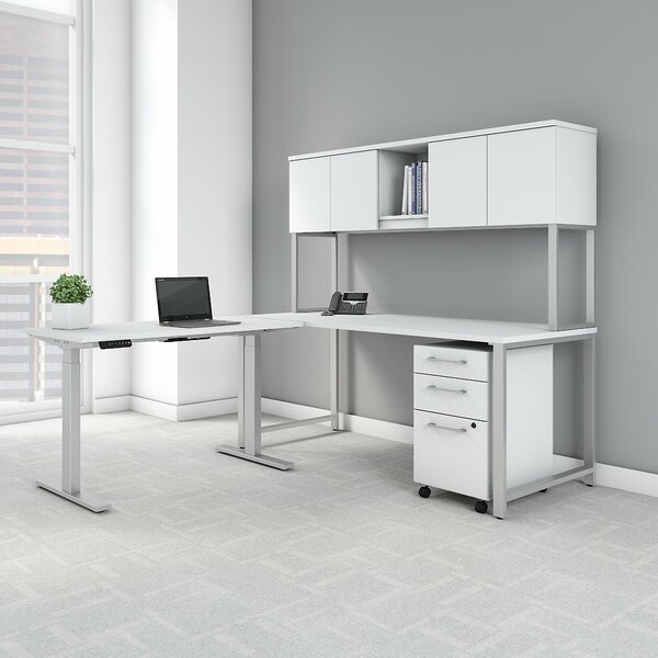 400 Series L-Shaped Desk Office Suite by Bush Business Furniture