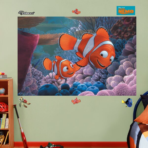 Disney Finding Nemo Wall Decal by Fathead