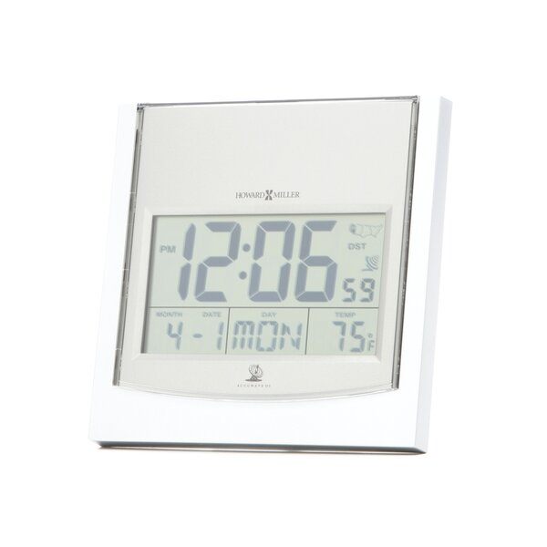 Techtime I Atomic Alarm Clock by Howard Miller®Techtime I Atomic Alarm Clock by Howard Miller®
