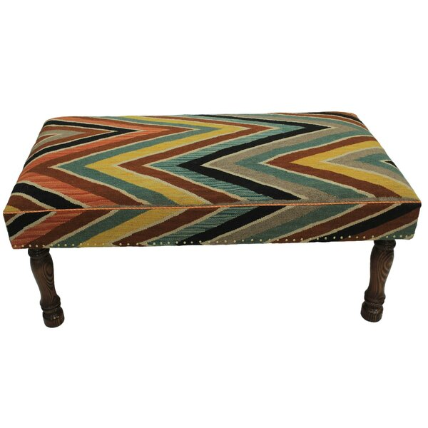 Strout Upholstered Bench by Bloomsbury Market