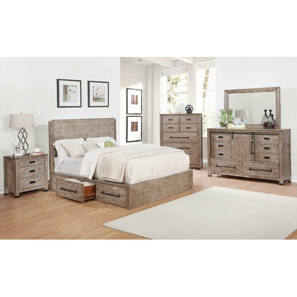 Stimpson 8 Drawer Double Dresser with Mirror by Gracie Oaks