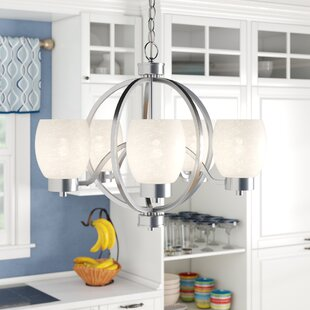Great choice Boulevard 5-Light Shaded Chandelier By Andover Mills