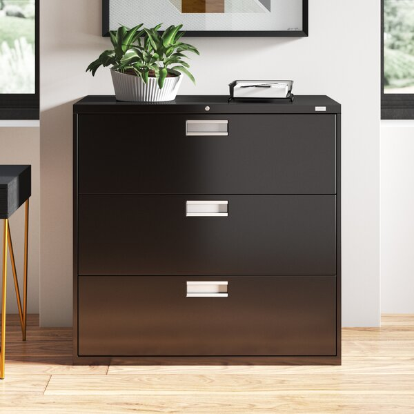 600 Series 42W 3-Drawer Lateral Filing Cabinet