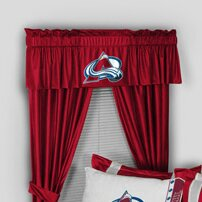 NHL Colorado Avalanche 88 Curtain Valance by Sports Coverage Inc.