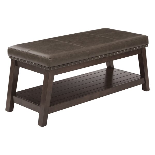 Alyda Upholstered Storage Bench By Union Rustic
