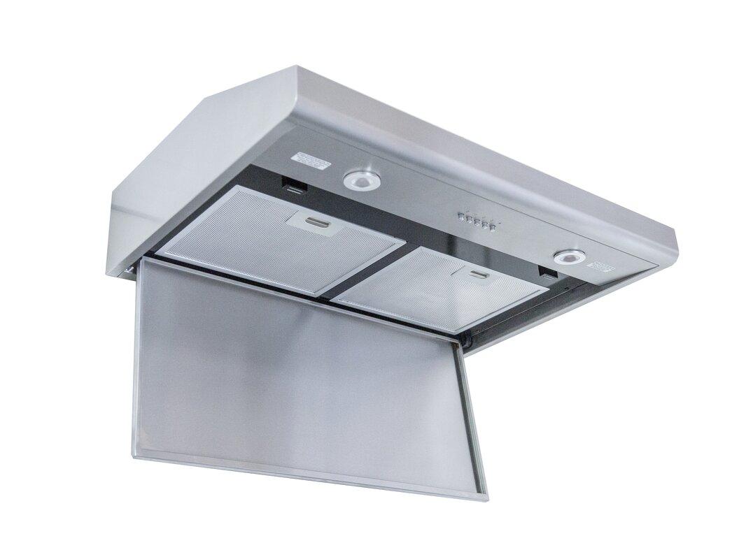 100 ancona chef under cabinet ii kitchen range hood ancona