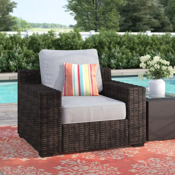 Oreland Patio Chair with Cushions by Sol 72 Outdoor