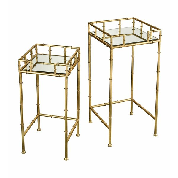 Wendell 2 Piece End Table Set by Mercer41 Mercer41