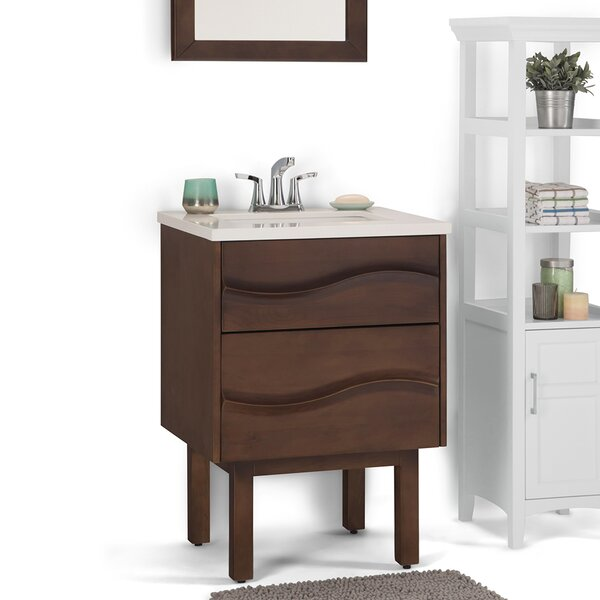 Marlowe 25 Single Bathroom Vanity by Simpli HomeMarlowe 25 Single Bathroom Vanity by Simpli Home