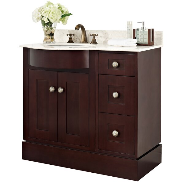 36 Single Transitional Bathroom Vanity Set by American Imaginations36 Single Transitional Bathroom Vanity Set by American Imaginations