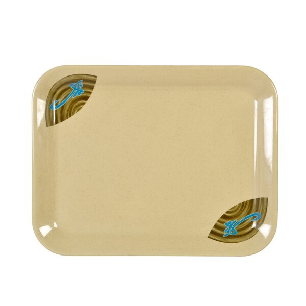 Heidi Rectangular Platter (Set of 12) by Bloomsbury Market