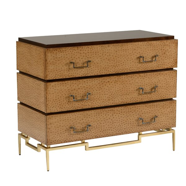 Camelus 3 Drawer Accent Chest by Wildwood