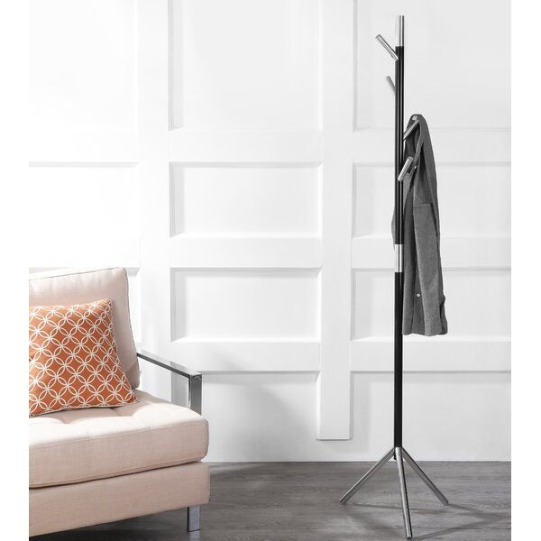 Peeler Modern Metal Coat Rack by Latitude Run