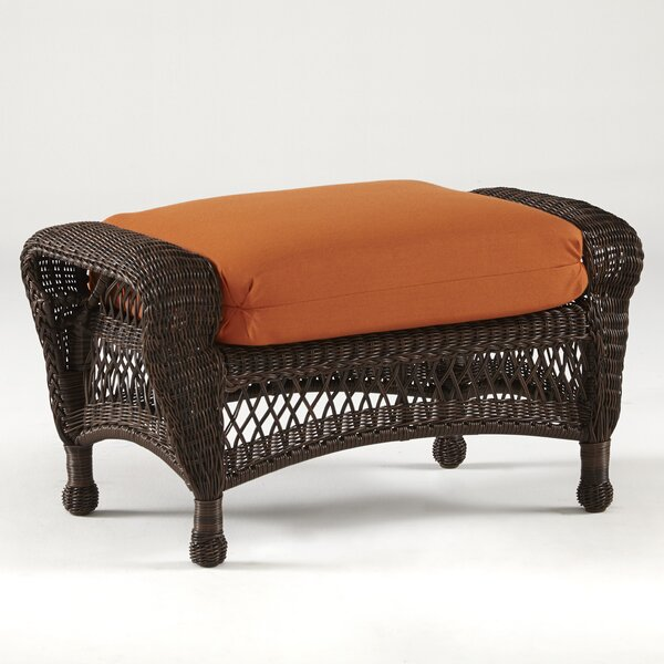 Spruce Hill Montego Bay Ottoman with Cushion by Bay Isle Home