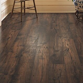 Rugged Vision 7.5 x 54.34 x 11.93mm Chestnut Laminate Flooring in Dark Brown by Mohawk Flooring