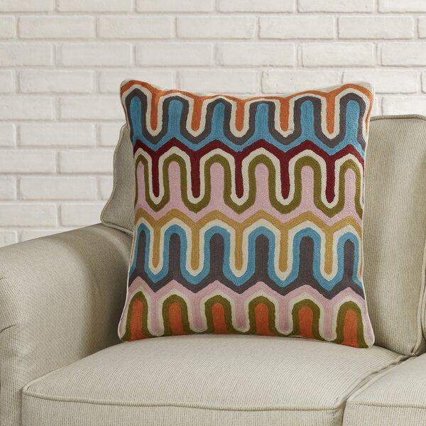 Evangelista Arrow Cotton Throw Pillow (Set of 2) by Brayden Studio