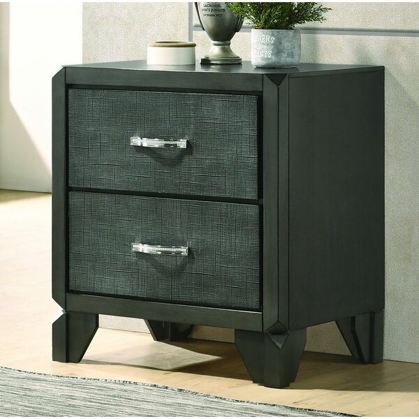 Blanding 2 Drawer Nightstand by Red Barrel Studio