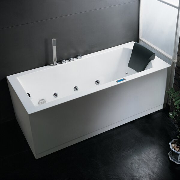 Platinum 70 x 25 Whirlpool Bathtub by Ariel Bath