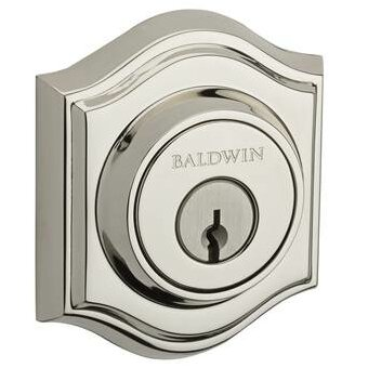 Traditional Arch Double Cylinder Deadbolt by Baldwin
