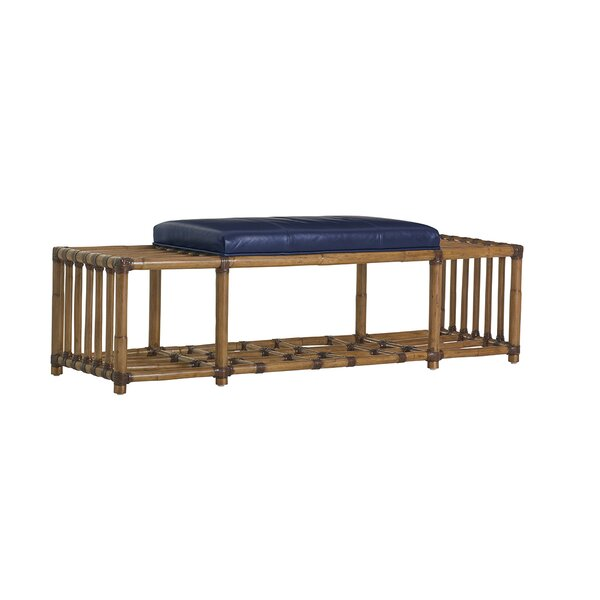 Twin Palms Storage Bench By Tommy Bahama Home by Tommy Bahama Home Best