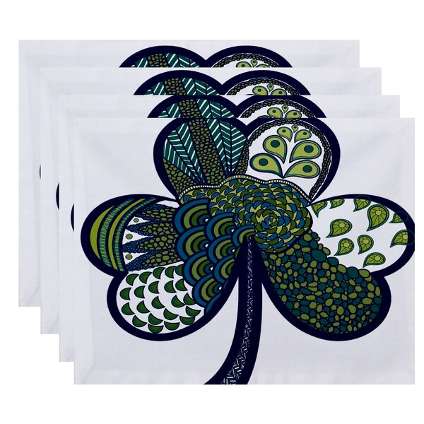 Funky Junky Sham-Tangle Placemat (Set of 4) by The Holiday Aisle